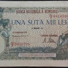 Bancnota 100000 lei - ROMANIA, anul 1946 / Decembrie *cod 64