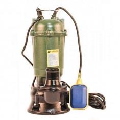 Pompa submersibila cu tocator si plutitor pentru apa murdara WQCD 10