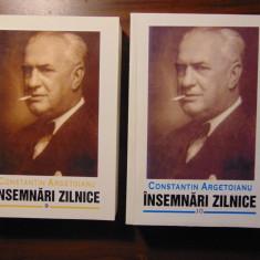 Insemnari zilnice, vol 9, 10 (aprilie 1941 - aprilie 1944) - C. Argetoianu - Istorie