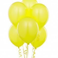 Baloane galbene party, 30 cm, latex, set 100 bucati - Decoratiuni petreceri copii