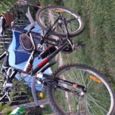 Bicicleta Btwin RR 6.0 - Mountain Bike Rockrider, 19 inch, 26 inch, Numar viteze: 21