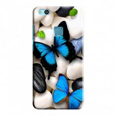 Husa Huawei P10 Lite Custom Hard Case Butterflys 2 Bonus Folie Ecran - Husa Telefon Huawei, Plastic
