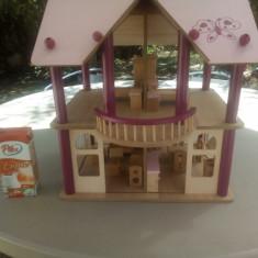Vila EICHHORN din lemn pentru papusi - Casuta/Cort copii Altele