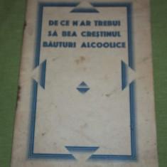 Petre P. Paulini - De ce n-ar trebui sa bea crestinul bauturi alcoolice - Carti Crestinism