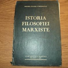 Istoria Filosofiei Marxiste de Gh. Al. Cazan
