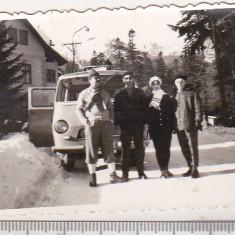 Bnk foto - Microbuz TV-4 - Fotografie, Alb-Negru, Transporturi, Romania 1900 - 1950