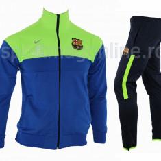 Trening BARCELONA - Bluza si pantaloni conici - Modele noi - Pret Special 1196 - Trening barbati, Marime: S, Culoare: Din imagine