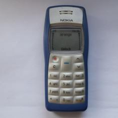 NOKIA 1100 MADE IN GERMANY. - Telefon Nokia, Albastru, Nu se aplica, Neblocat, Fara procesor