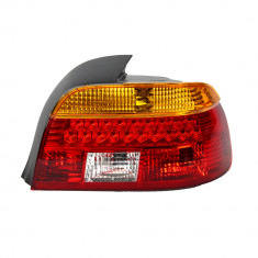 Resigilat : Lampa spate BMW E39 seria 5 cu leduri semnalizare galbena 1997 - 2000, - Far