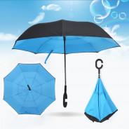 123123Umbrela reversibila de ploaie cu maner special