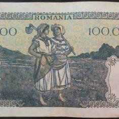 Bancnota 100000 lei - ROMANIA, anul 1946 / Decembrie  *cod 65