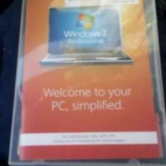 SISTEM DE OPERARE WINDOWS 7 PROFESIONAL 32 bitz ( SIGILAT ), DVD, Retail, Altul