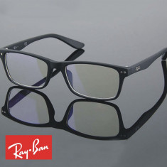 Rame ochelari de vedere Ray Ban - dama barbati unisex RB9675 - Rama ochelari Ray Ban, Negru, Dreptunghiulare, Plastic, Rama intreaga