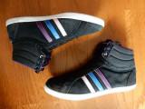 Adidasi Adidas Neo Label, piele naturala; marime 41 1/3 (26 cm talpic interior)