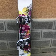 Placa snowboard Trans FE Rocker 152cm cu legaturi - Placi snowboard