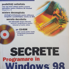 SECRETE PROGRAMARE IN WINDOWS 98 - Clayton Walnum - Carte Limbaje de programare