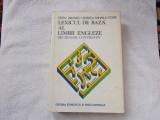 Lexicul de baza al limbii engleze - dictionar contrastiv - E. Iarovici