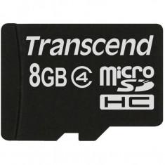 Card de memorie Transcend Micro SDHC 8 GB Clasa 4 - Card Micro SD