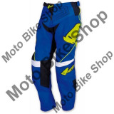 MBS Pantaloni copii motocross Ufo Iconic, albastru, 38, Cod Produs: PI04380C38