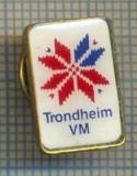 986 INSIGNA SPORTIVA - SKI(SCHI) -TRONDHEIM VM