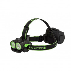 Lanterna cap led lenser xeo19r green 2000lm + inclus+ husa - Set pescuit