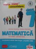 Matematica Algebra, Geometrie Clasa A Vii-a Partea I - Anton Negrila, Maria Negrila ,401787