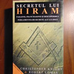 Secretul lui Hiram - C. Knight, R. Lomas (2002) - Carte masonerie