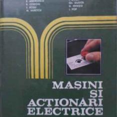 Masini Si Actionari Electrice - I. Novac Si Colab., 401797 - Carti Electrotehnica