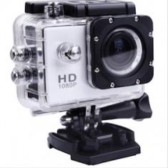 Camera video de actiune, Full HD, carcasa rezistenta la apa