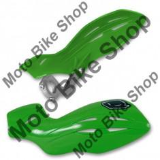 MBS Protectii maini Ufo Gravity, ghidon D.22mm, verde, Cod Produs: PM01631026 - Protectii maini Moto