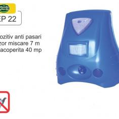 Aparat anti-pasari cu senzor de miscare si lampa stroboscopica - REP 22 - Aparat antidaunatori