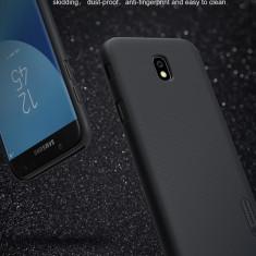 Husa Samsung Galaxy J5 2017 Super Frosted Neagra by Nillkin - Husa Telefon Samsung, Rosu, Plastic, Fara snur, Carcasa