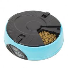 Aproape nou: Hranitoare automata programabila PNI MyPet Meal pentru mancare, Albast