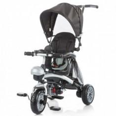 Tricicleta Copii 1,5-5 Ani Transformer Maverick Black, Chipolino