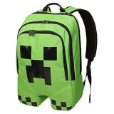 Ghiozdan Minecraft scoala  / Creeper Backpack / Back to school