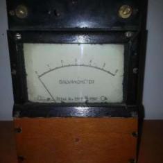 Aparat de masura vintage-Galvanometru anii 50' fabricat Ungaria