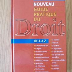 Nouveau guide pratique du droit JEAN LAGADEC, 2003- cartonata