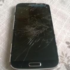 SMARTPHONE SAMSUNG GALAXY S4 GT-I9505 FUNCTIONAL CU DISPLAY SI TOUCH DEFECT, Negru, Neblocat