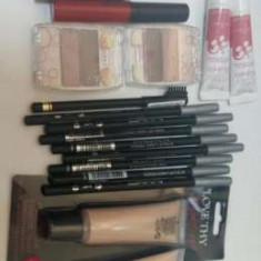 Set 17 cosmetice mac rimmel collection 2000 100 ron