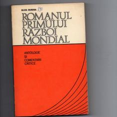 Romanul primului razboi mondial (antologie si comentarii critice) - Istorie