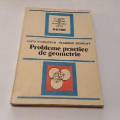 Probleme practice de geometrie Liviu Nicolescu, rm3 - Carte Matematica