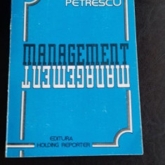 MANAGEMENT - ION PETRESCU
