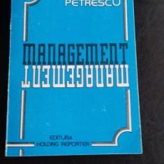 MANAGEMENT - ION PETRESCU - Carte Management