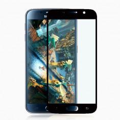 Geam Samsung Galaxy S6 G920F Tempered Glass Full Face Black - Folie de protectie Samsung, Lucioasa