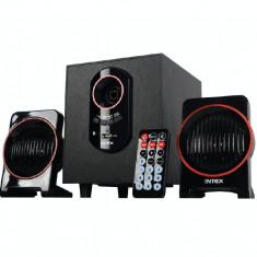 Boxe Intex 2.1 IT1600U Putere RMS : 15W + 5W x 2 Negru - Boxe PC