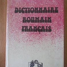 DICTIONNAIRE ROUMAIN FRANCAIS- cartonata - Curs Limba Franceza Altele