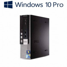 Calculatoare refurbished Dell OptiPlex 780 USFF, E7500, Win 10 Pro - Sisteme desktop fara monitor Dell, Windows 10