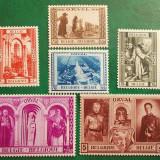 Belgia 1939 75 Euro catedrala Orval religie - serie nestampilata MNH