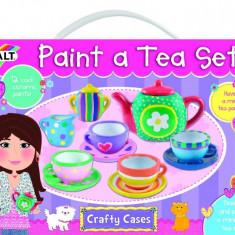 Picteaza un set de ceai - Set ceramica - Jocuri arta si creatie Galt