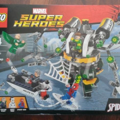 Lego 76059 original SpiderMan: Capcana cu tentacule a lui Doc Ock - nou, sigilat - LEGO Marvel Super Heroes